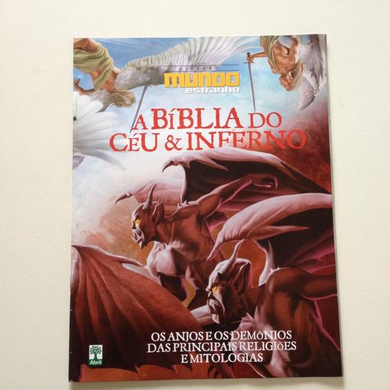 Revista Mundo Estranho A Bíblia Do Céu & Inferno Nº1153
