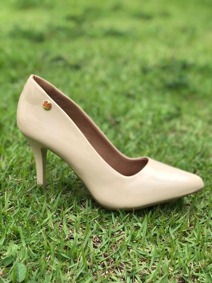 Sapato Scarpin, Salto Alto Bico Fino