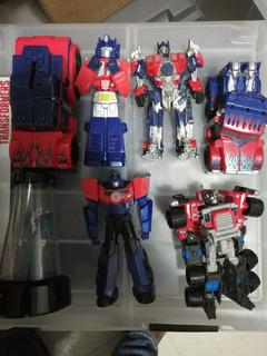 Lote De Transformers Nuevos Y Seminuevos Bumblebee Y Optimus