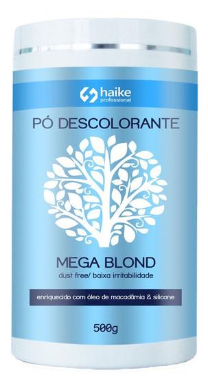 Pó Descolorante Haike Mega Blond 500gr