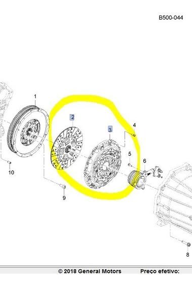 Kit Embreagem S-10 2.5 Flex Com Atuador, 24271356/24251196