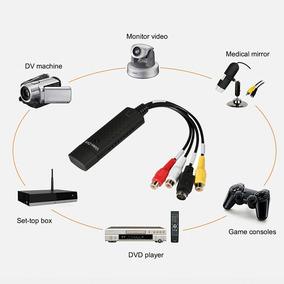 Usb Vhs / Vcr Para Vídeo Conversor Dvd Conversor Captura Com