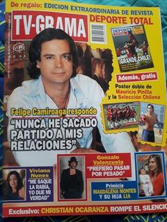 Revista Tv-grama N°916 Felipe Camiroaga