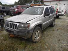 Sucata Grand Cherokee Laredo 2.7 2004 Automatica
