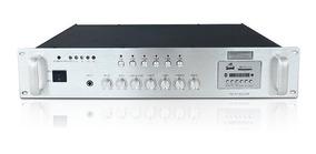 Amplificador Som Ambiente Slim 1600 Mp3 Sd Card Usb 80l