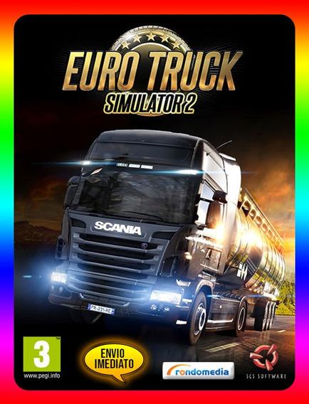 Euro Truck Simulator 2 Pc - Steam Key (envio Já)