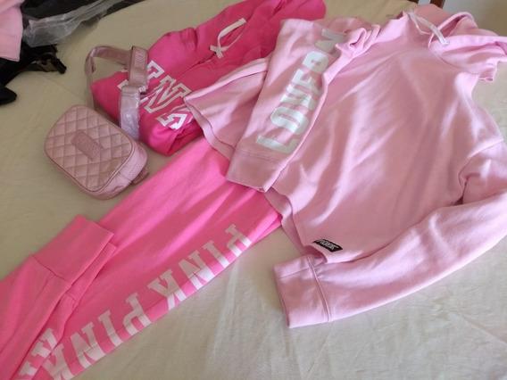 Buzos Con Capucha Hoodies Victoria´s Secret Pink Original M