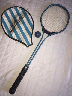 Raquete De Squash Appeal + Capa E Bolinha