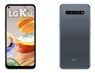 Celular LG K61 128gb 4gb Ram 4 Câmeras Resistência Militar