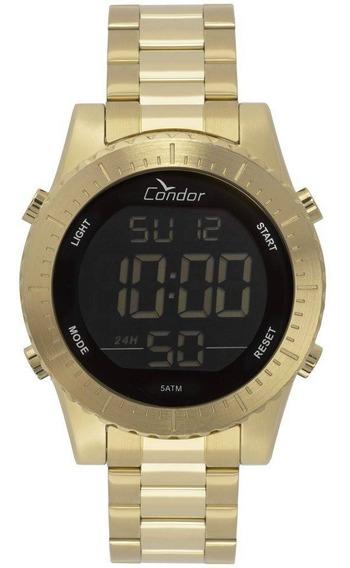 Relógio Condor Casual Digital Dourado Cobj3463aa/4d