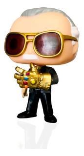 Muñeco Funko Pop! Stan Lee Custom Guante Del Infinito Thanos