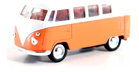 Welly Volkswagen Autobus Clasico 1962 Escala 1.36