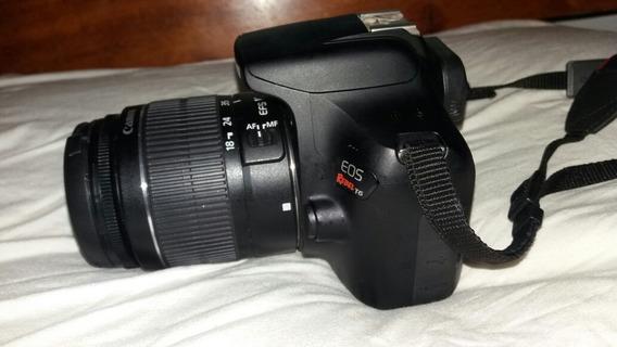 Câmera Canon Eos Rebel T6 Com Lentes 18-55mm E 50mm