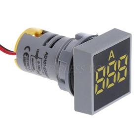Amperímetro Ac Digital De Painel - 0a 100a -display Vermelho