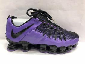 a06923059f3 Nike Shox Tlx (12 Molas Roxo Tamanho 42 - Tênis 42 no Mercado Livre ...