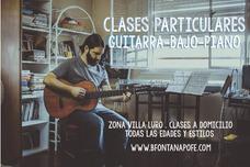 Clases De Guitarra Piano Bajo. Villa Luro/ Floresta/ Liniers