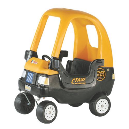 Vehículo Taxi Con Techo Y Puertas Rotoys Original Cuotas