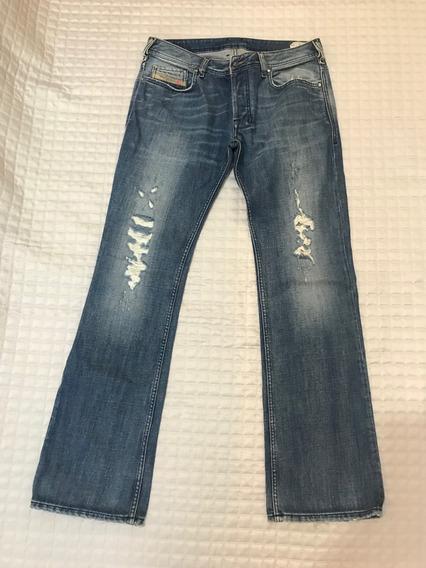 Calça Jeans Masculina Diesel Straight Original