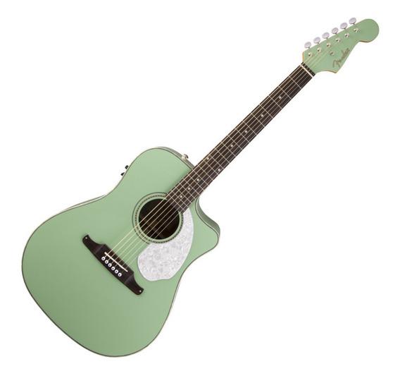 Guitarra Electroacústica Fender Sonoran Sce Surf Green