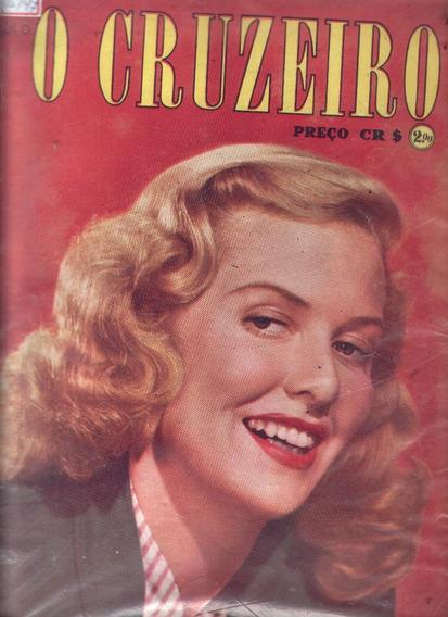 O Cruzeiro 1947.janis.são João Del Rei.caxias Do Sul.bahia