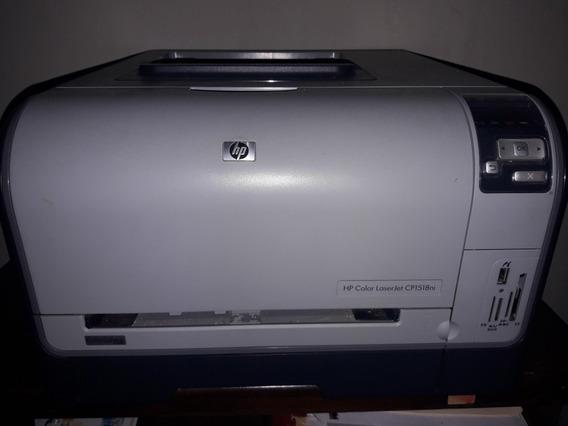 Impresora Hp Color Laserjet Cp1518ni - Computación en