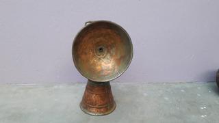 Antigo Lampião De Cobre