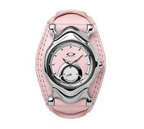 Relógio Oakley Jury Feminino Rosa Novo Original