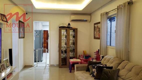 Casa Com 3 Dormitórios À Venda, 118 M² Por R$ 400.000 - Renascer - Macapá/ap - Ca0474
