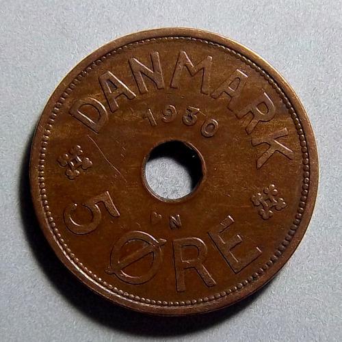 Dinamarca 5 Ore 1930 Exc Km 828.2