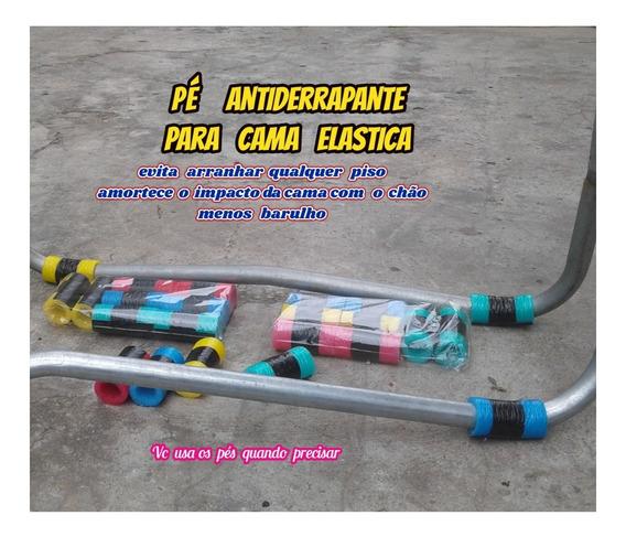 Pé Antiderrapante Para Cama Elastica Mais Segurança Kit C/16