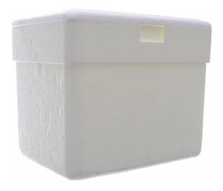 Caixa Térmica De Isopor Capacidade 13 Litros Isocamp C/ Alça