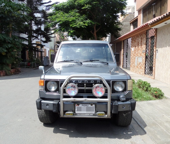 Camioneta Hyundai Galloper