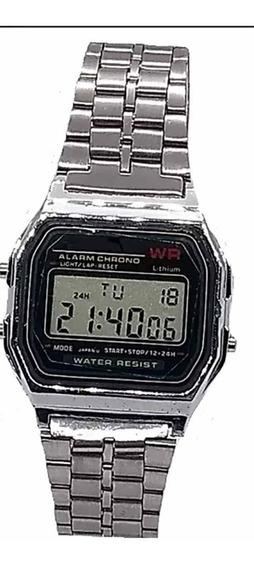 Kit 10 Relógios Retrô Vintage Classico Prata Unissex Relogio
