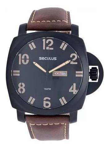 Relógio Seculus Masculino 20286gpsvpc3 Novo Nfe Garantia