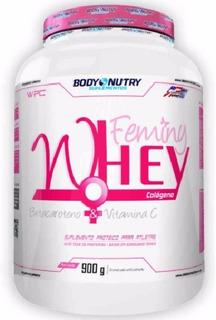Whey Protein Feminy + Colágeno 900g. - Body Nutry