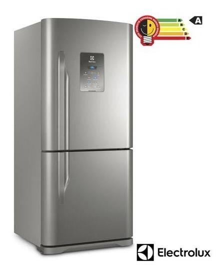 Geladeira Bottom Freezer Electrolux 2 Portas 598l Inox Db84x