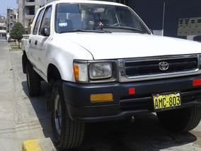 Toyota Hilux 4x4 Japones Original Con Muelles.
