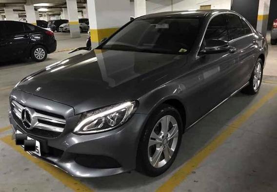 Mercedes-benz Classe C 1.6 Exclusive Turbo Flex 4p 2017