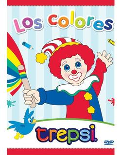Dvd Compacto Trepsi Musica Infantil Niños Los Colores
