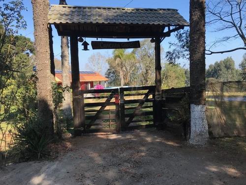 Chácara Com 3 Dormitórios À Venda Com 13800m² Por R$ 489.000,00 No Bairro Cerro Verde - Quitandinha / Pr - Ch0003