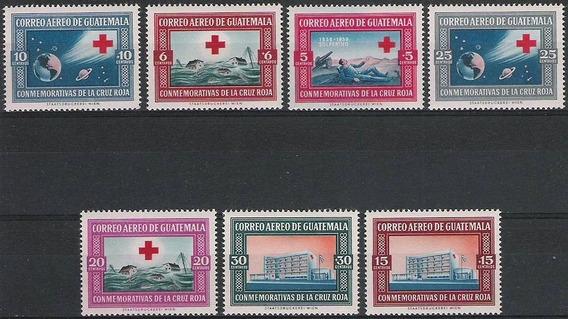 Guatemala 1960 - Cruz Roja - Serie Completa Mint
