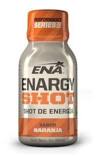 Ena Suplemento Deportivo Enargy Shot X 60ml Naranja