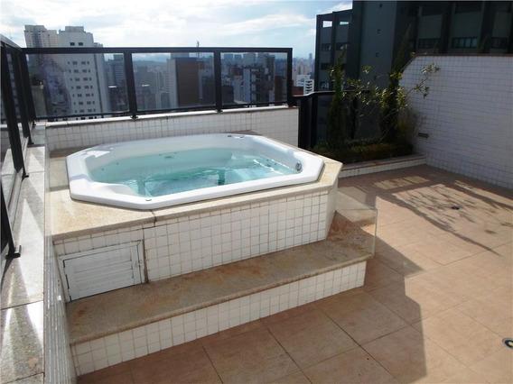 Cobertura Com 1 Dormitório À Venda, 94 M² Por R$ 950.000 - Campo Belo - São Paulo/sp- Forte Prime Imóveis - Co0909