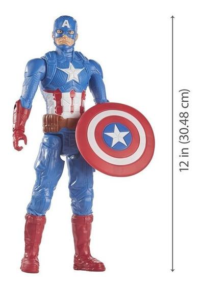Avengers Vingadores Boneco 30cm Capitão América Hasbro E7877