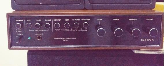 Amplificador Sony Ta 70/sansui/akai/pioneer/cce/gradiente/te