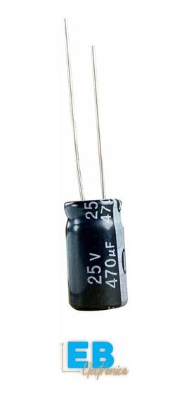 Capacitor Electrolitico 470uf X 25v 105° X 10 Unidades