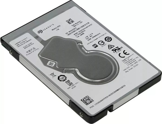 Hd Notebook 1tb Interno Seagate Mobile 5400rpm 2,5 Sata3 7mm