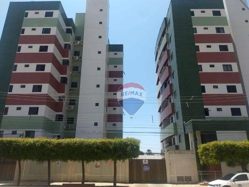 Apartamento Com 2 Dormitórios À Venda, 62 M²  - Nova Betânia - Mossoró/rn - Ap0006