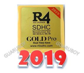 R4 Card Gold Pro 2019 Sem Cartão Micro Sd