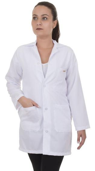 Avental / Jaleco Algodão Laboratório Branco P,m,g,gg